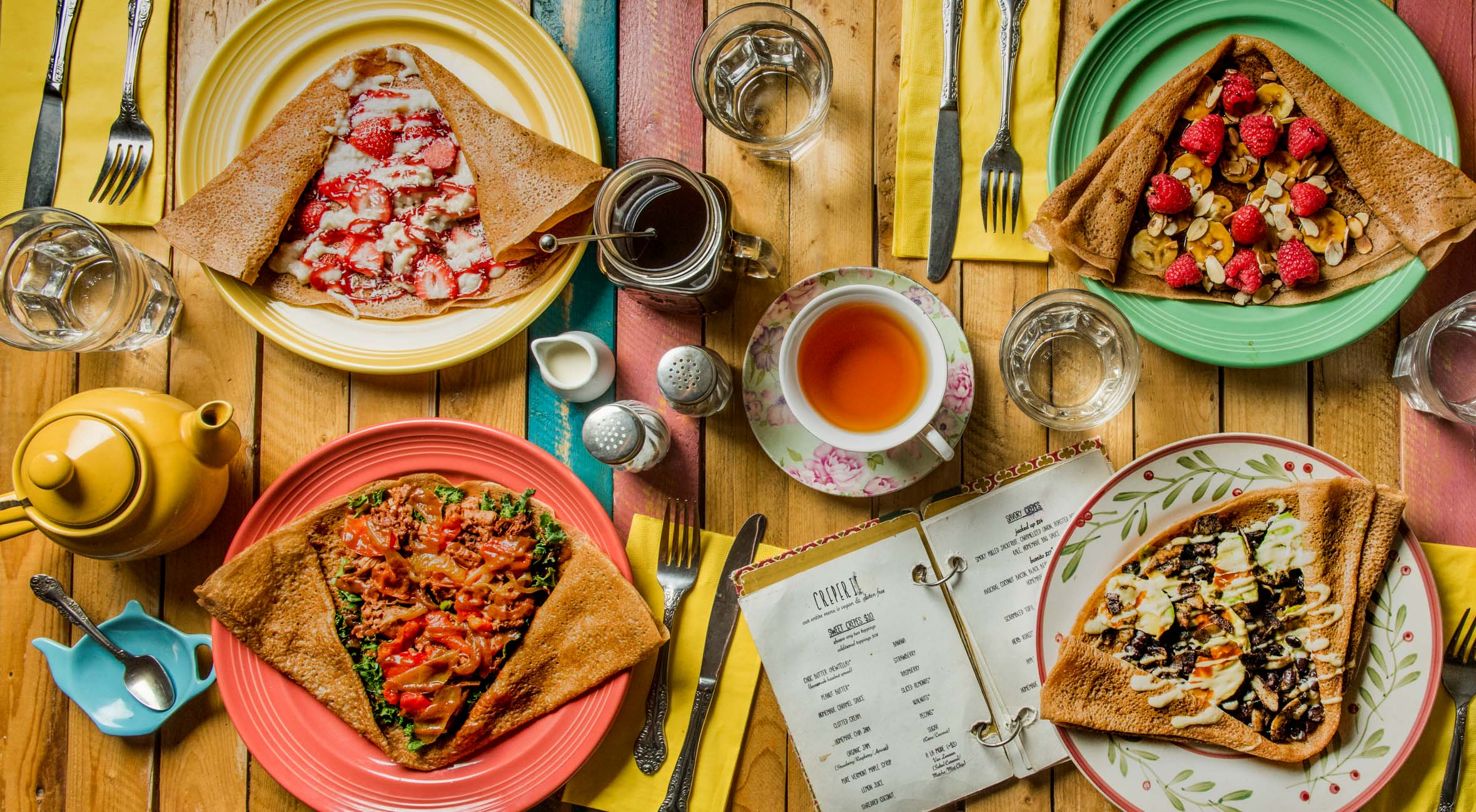 Crepes and Drinks for 2 persons at Little Choc Apothecary – Taste the Delicious Sweet and Savory Crepes in Williamsburg