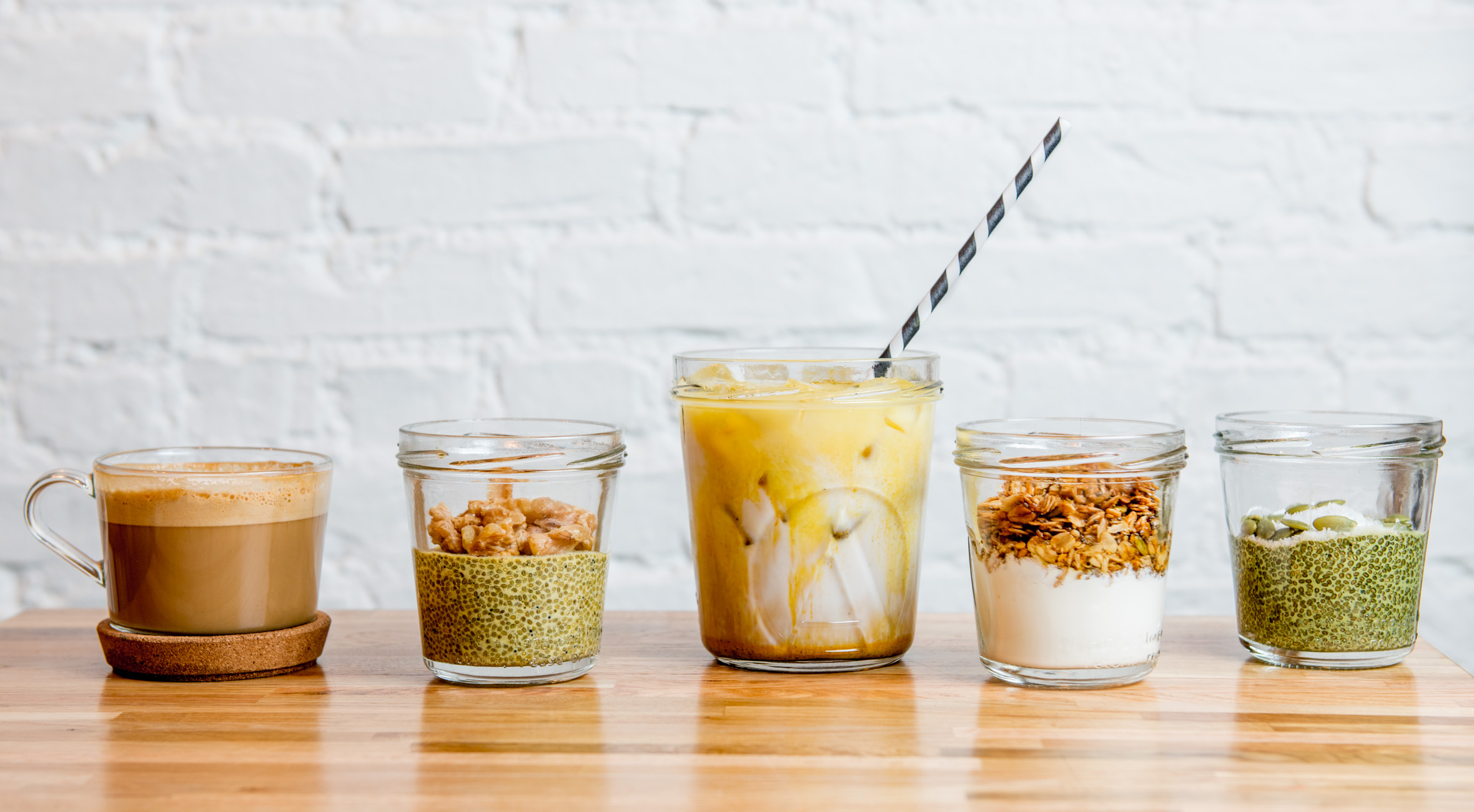 $20 Towards Whatever You Like at Ancolie in Greenwich Village – From Rainbow Salads to Soups, Chia Pudding, Raw Balls, Matcha Latte etc.