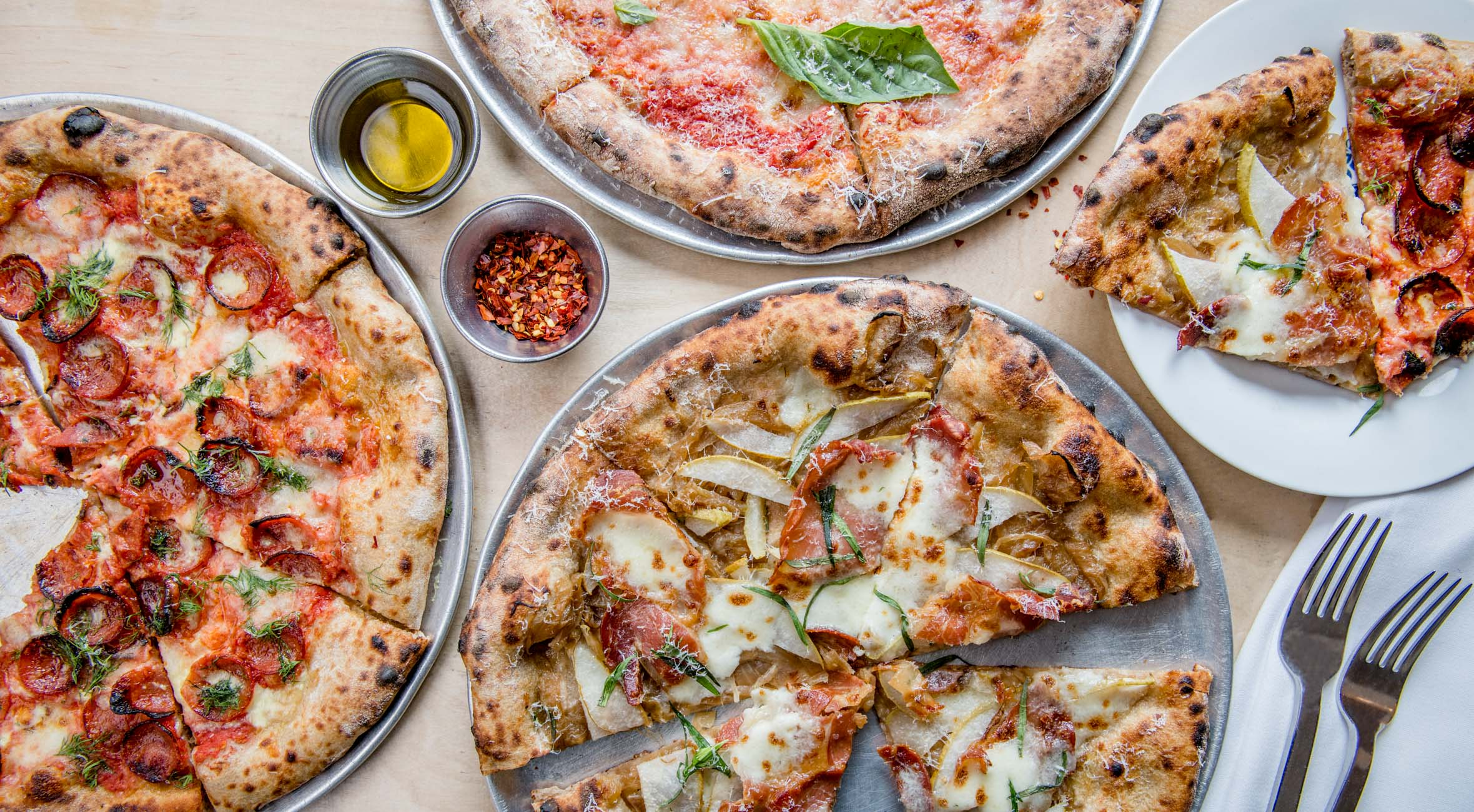 Two Pizzas of Your Choice at Bruno Pizza in East Village – Recommended by Michelin