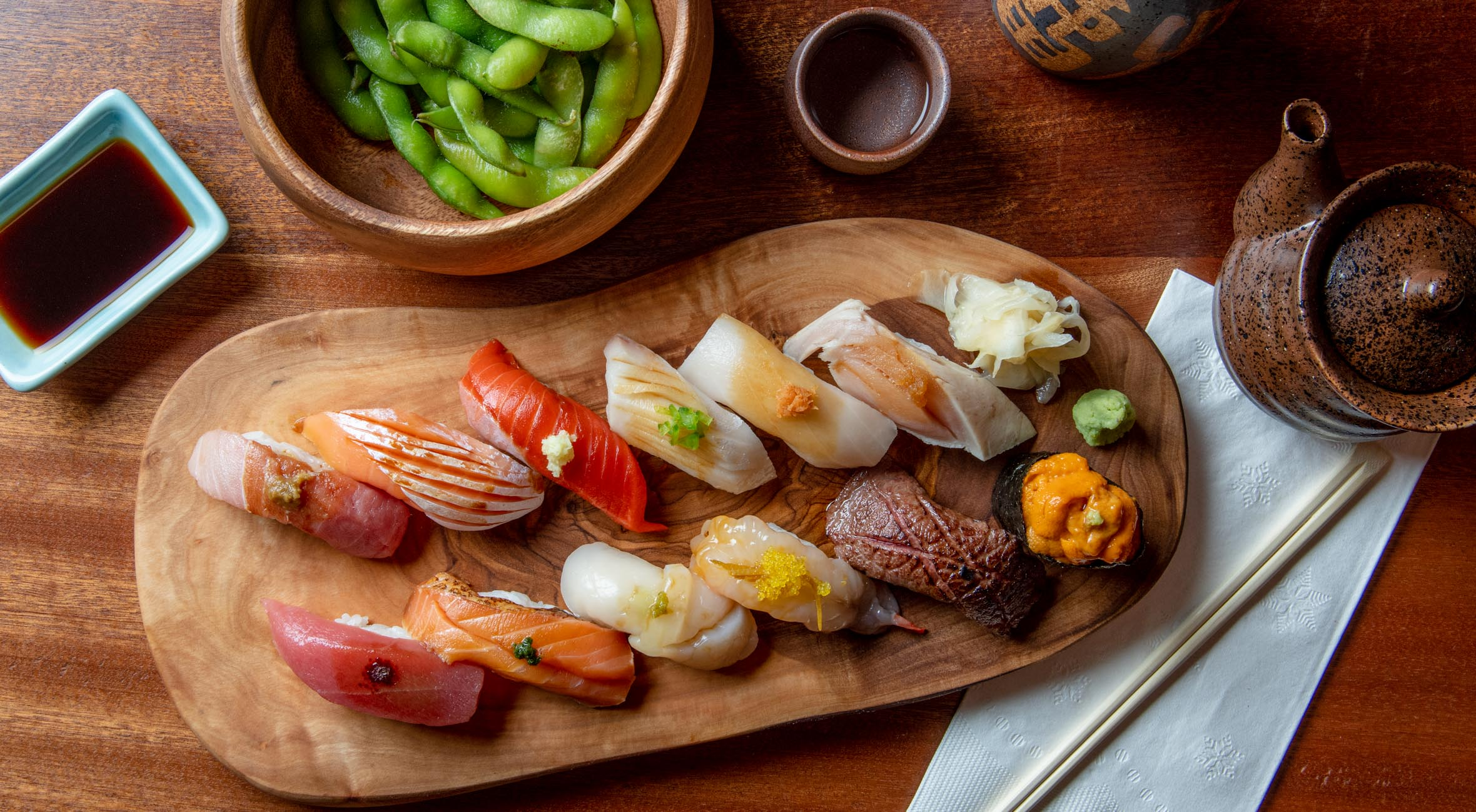 Omakase Menu at Shinsen in Chinatown – One of NYC's Best Omakase Experiences