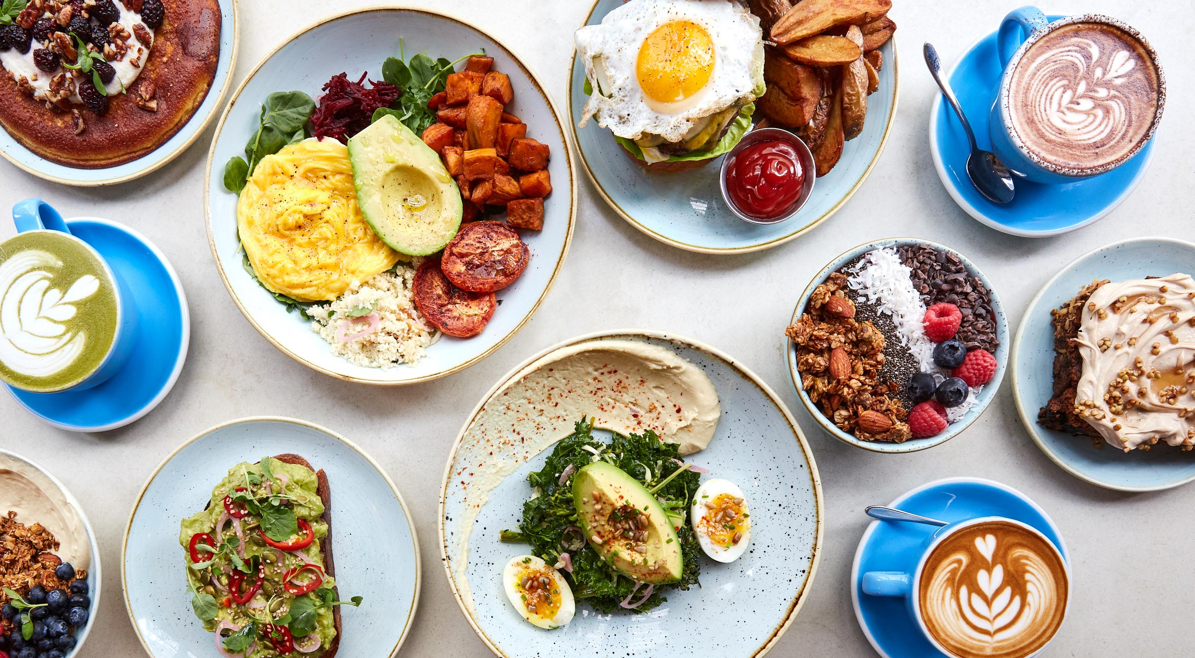 Pick Whatever You Like at Two Hands – From Acai Bowls to Avocado Toasts, Burgers, Salad Bowls, Banana Bread etc.