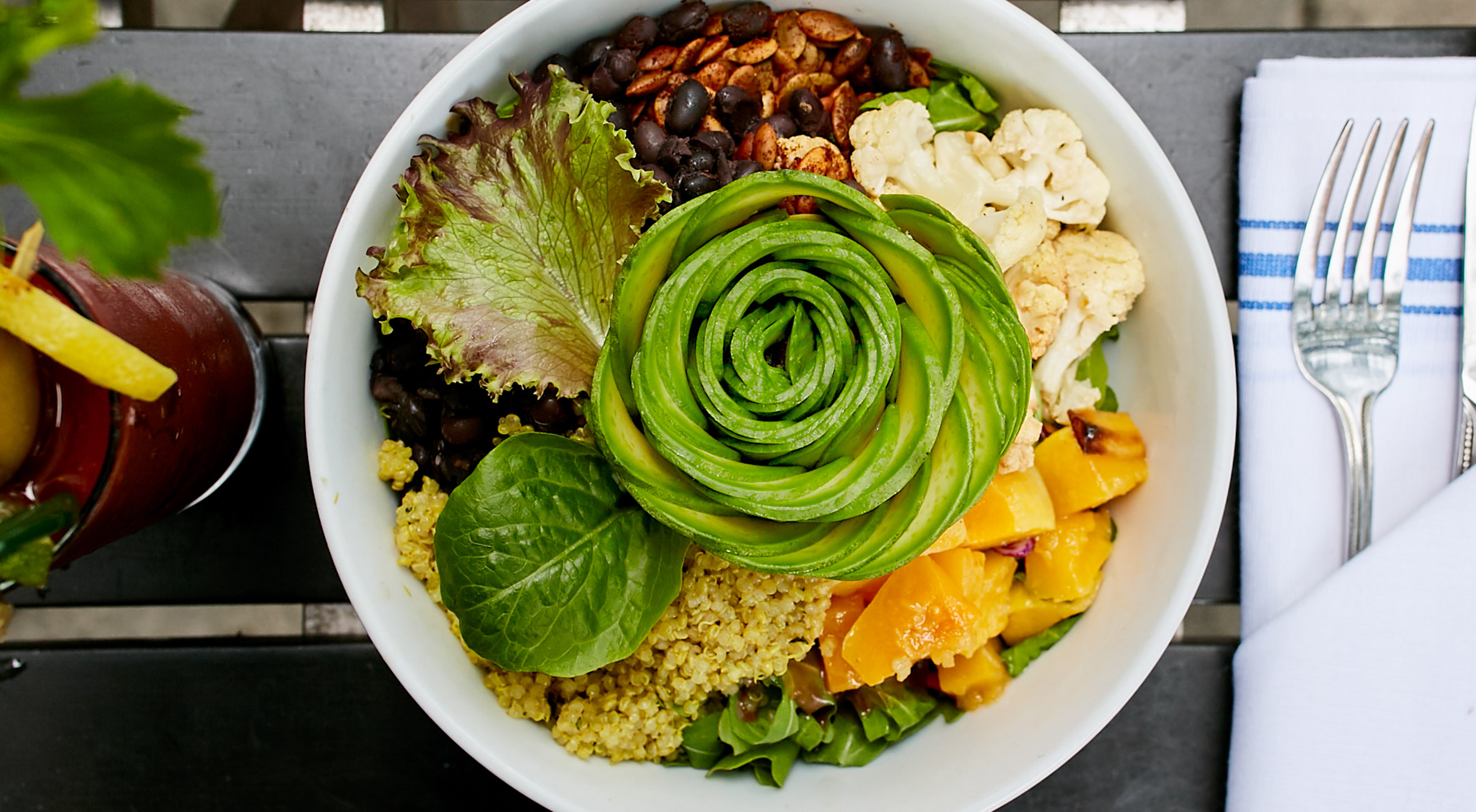 Pick Whatever You Like at Spring Natural – From Sweet Potato Waffles to Veggie Bowls, Salmon Avocado Toasts, Vegan Burgers etc.