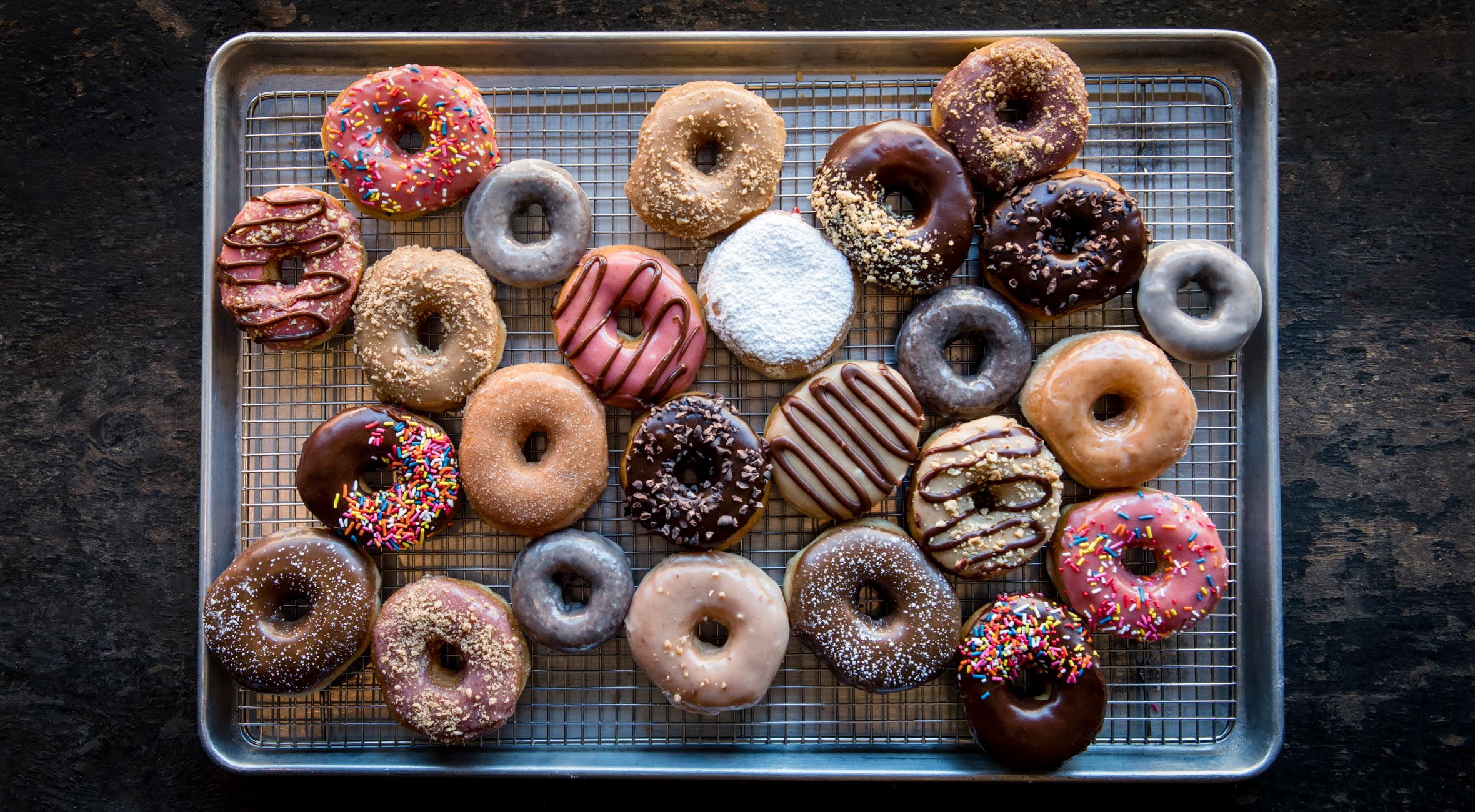 ½ Dozen Doughnuts at Dun-Well Doughnuts – Named Best Doughnuts in NYC