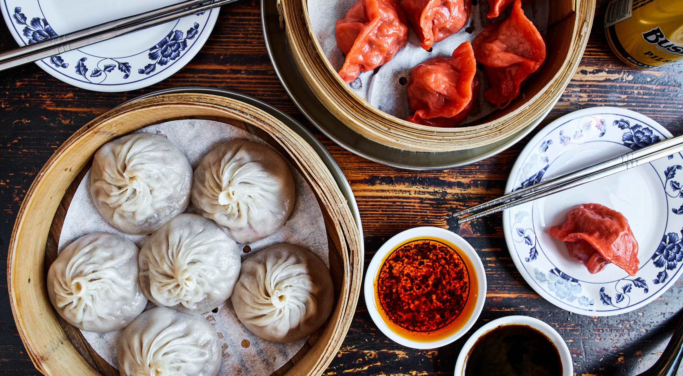 Dumpling Feast with Drinks for 2 People at Drunken Dumpling in East Village – One of NYC's Best Dumpling Joints